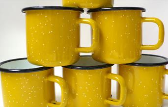 Yellow mugs from Utility