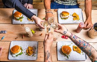 Bottomless Burger Brunch @ The Bok Shop