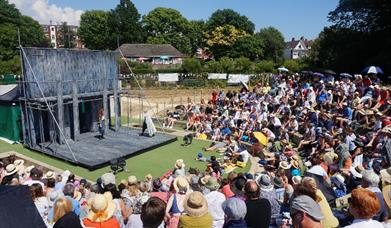 Photo of the Brighton Open Air Theatre