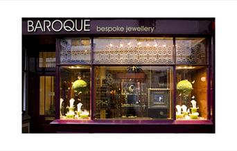 exterior of Baroque bespoke jewellery