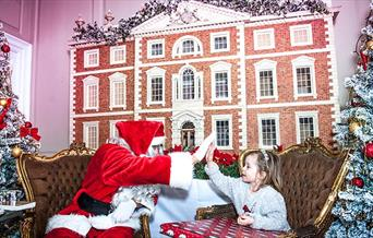Father Christmas Meet and greet at Stanmer House