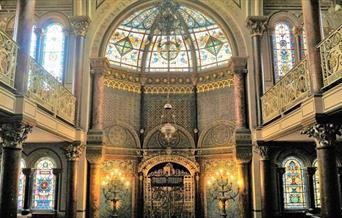 Photo of Middle Street Synagogue taken by Naomi Stanley