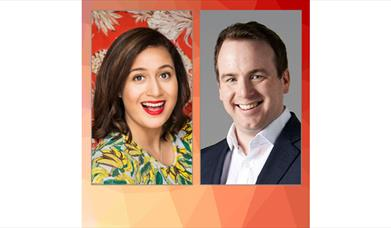 Rose Matafeo and Matt Forde