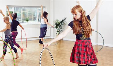 Hula Hooping Beginners Workshop with Jo Mondy