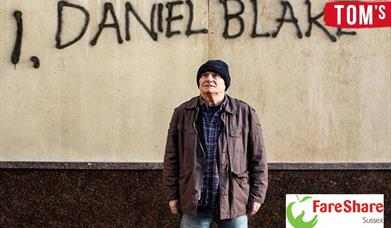 actor David Johns as Daniel Blake in 'I, Daniel Blake'