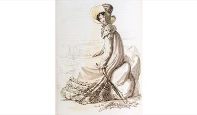 Jane Austen, Ackermann's 1818 Walking Dress