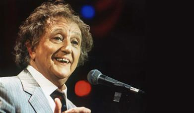 Ken Dodd on stage
