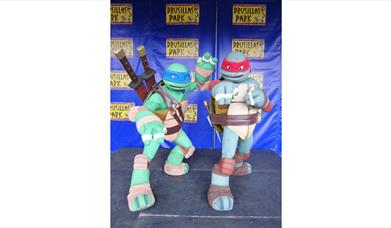 Leo and Ralph from Teenage Mutant Ninja Turtles