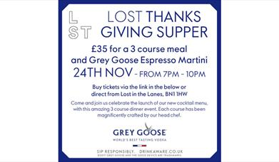 Lost Thanks Giving Supper