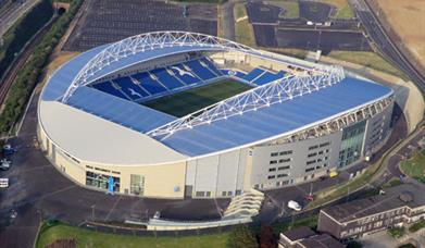 Aerial View of The Americal Express Community Stadium Brighton