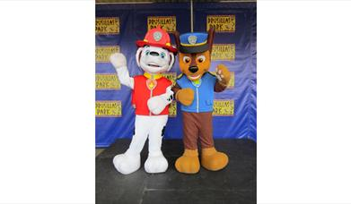 Chase and Marshall from Paw Patrol