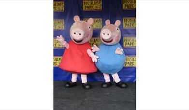 Peppa Pig and George
