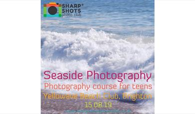 Seaside Photography course for teens