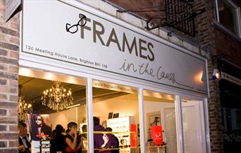 Frames in the Lanes interior