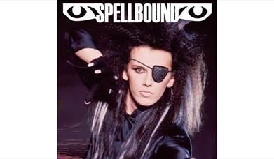 Spellbound poster with Dead or Alive frontman on it.