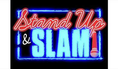 Stand Up & Slam neon light