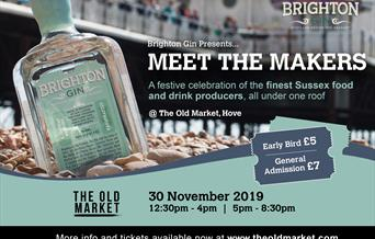 Brighton Gin Presents Meet The Sussex Makers