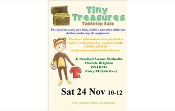 Tiny Treasures Tabletop Sale