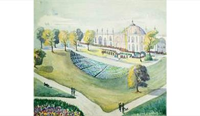 Visions of the Royal Pavilion Estate - artwork