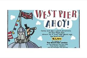 West Pier Ahoy! by Lisa Holdcroft