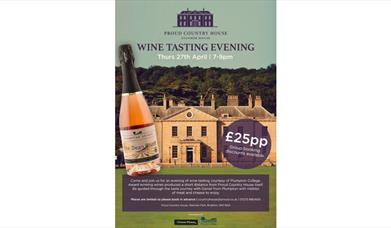 Wine Tasting Evening poster