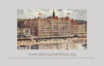 Historic picture of Metropole Hotel on Brighton seafront