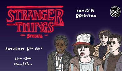 Stranger Things - 80s Teen Soundtrack Party